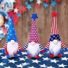 Patriotic 4th of July Gnomes