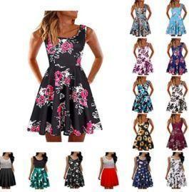 Summer Sleeveless Dresses