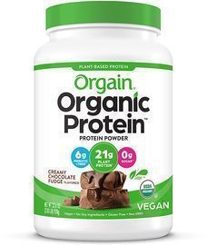 PRIME EXCLUSIVE: 2.03 lbs of Orgain Organic Plant Based Protein Powder