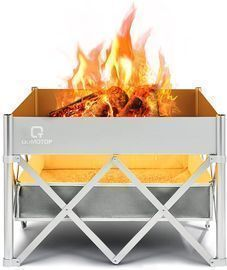 Instant Fire Pit with Heat Shield