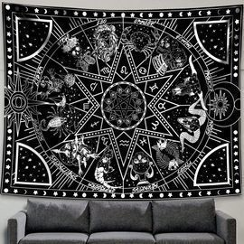 2 Constellation Tapestry Star Sun Tarot Tapestry