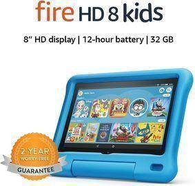 Fire HD 8 Kids 32GB Tablet w/ Kid-Proof Case