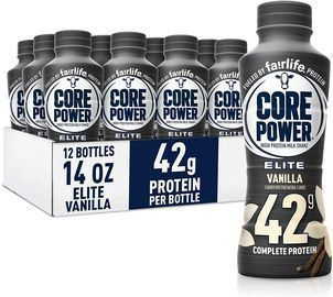 PRIME EXCLUSIVE: 12pk of Fairlife Core Power Elite High Protein Shakes
