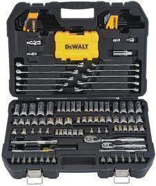 Prime Exclusive: DEWALT DWMT73802 142pc Mechanics Tools Kit and Socket Set