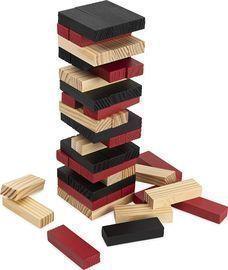 FAO Schwarz 52-Piece Wood Jumbling Tower Party Game
