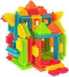 Lightning Deal | 120pcs Bristle Shape 3D Building Blocks Tiles