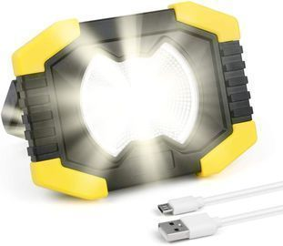 Portable LED Work Light with Power Bank