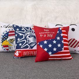 Set of 4 4th of July Decorations Pillow Covers