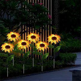 2pk Sunflower Garden Solar Lights