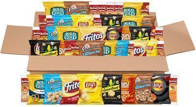 Prime Exclusive: 50pk of Frito-Lay Sweet & Salty Snacks Variety Box