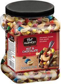 Prime Exclusive: Nut Harvest Nut & Chocolate Mix, 39 Ounce Jar