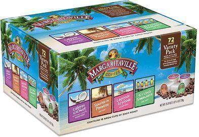 72pk of Margaritaville Variety Pack for K Cup Keurig 2.0 Brewers