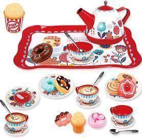 Tin Tea Party Set