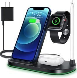 Wireless Charger 4 in 1 Wireless Charging Stand