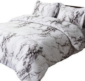 Microfiber Marble Comforter Set