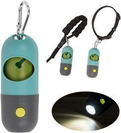 Dog Poop Bag Dispense with LED Flashlight