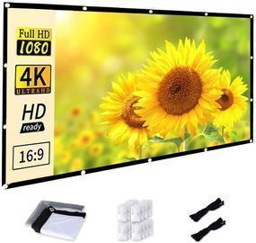 Portable 120 inch 16:9 HD Projector Screen