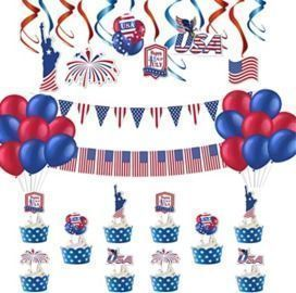 4th of July Patriotic Decorations