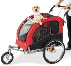 2-in-1 Pet / Bike Stroller
