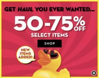 Bath and Body Works - 50 - 75% Off Haul You Ever Wanted Sale