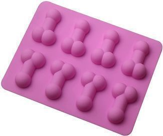 Novelty Silicone Chocolate Mold Ice Cube Tray