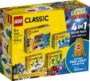 LEGO 613pc Masters Co-pack Creative Building Toy Value Set