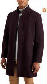 INC Men's Kylo Wool-Blend Top Coat
