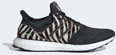 adidas Ultraboost DNA Zebra Running Shoes