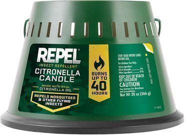 Repel Insect Repellent 20-oz. Triple Wick Citronella Candle