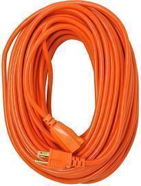Southwire Coleman Cable 16/3 Vinyl 100-Foot Outdoor Extension Cord