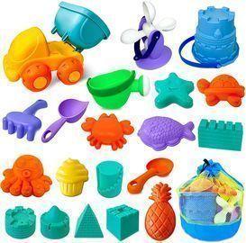 Atonofun 20pc. Sandbox Beach Toys (Blue)