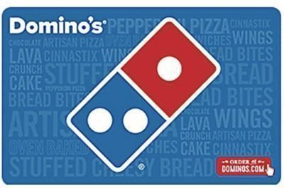 Domino's $25 Gift Card + $5 Bonus Card (Email Delivery)