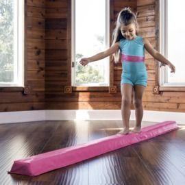 9' Full Size Folding Floor Balance Beam