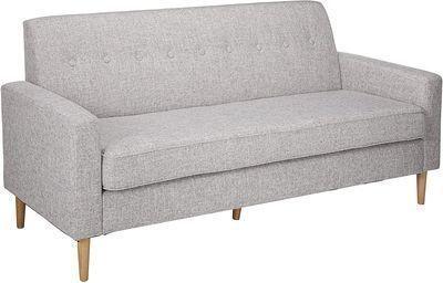 Christopher Knight Home Sawyer Mid-Century Modern Fabric 3-Seater Sofa