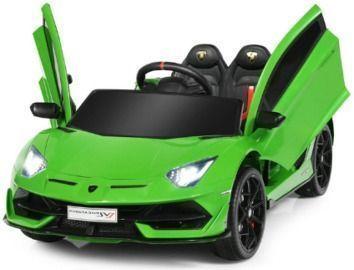 Kids' 12V Ride-On Lamborghini SVJ