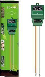 Sonkir MS02 3-in-1 Soil Moisture/Light/pH Tester