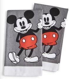 Disney Kitchen Towels, Set of 2
