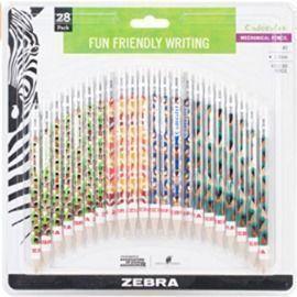 Zebra Cadoozles Mechanical Pencils