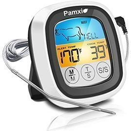 Pamxio Instant Read Food Thermometer
