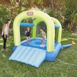 Little Tikes Splash n' Spray Indoor/Outdoor 2-in-1 Inflatable Bouncer