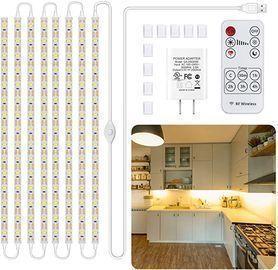 8pc Under Cabinet LED Lighting Kit w/ Remote