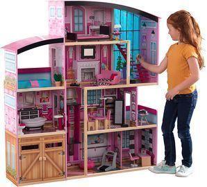 KidKraft KidKraft Shimmer Mansion Wooden Dollhouse
