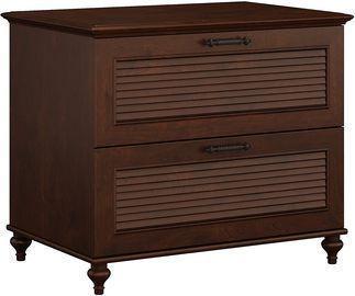 Bush Furniture Kathy Ireland Home Volcano Dusk Lateral File Cabinet