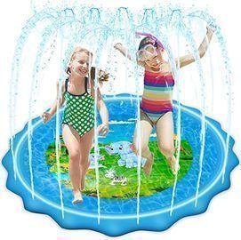 VOROSY Upgraded 79 Sprinkler & Splash Play Mat