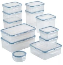 24-Pc. Lock n Lock Food Storage Container Set