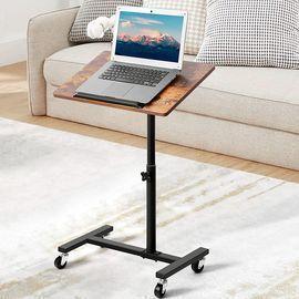 Height Adjustable Sofa End Table