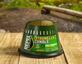 Repel Insect Repellent Citronella Candle, Triple Wick (20 oz)