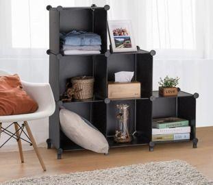 6-Cube Closet Storage Shelves