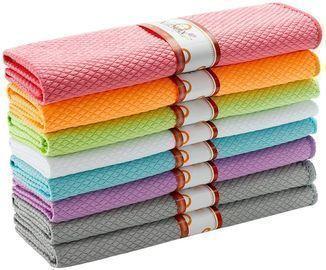 EliteBond 12 x 16 Dish Cloth Towels (8-Pack)