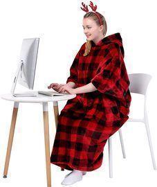 Waitu Wearable Blanket Sweatshirt
